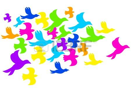 Flock Of Birds clipart #10, Download drawings