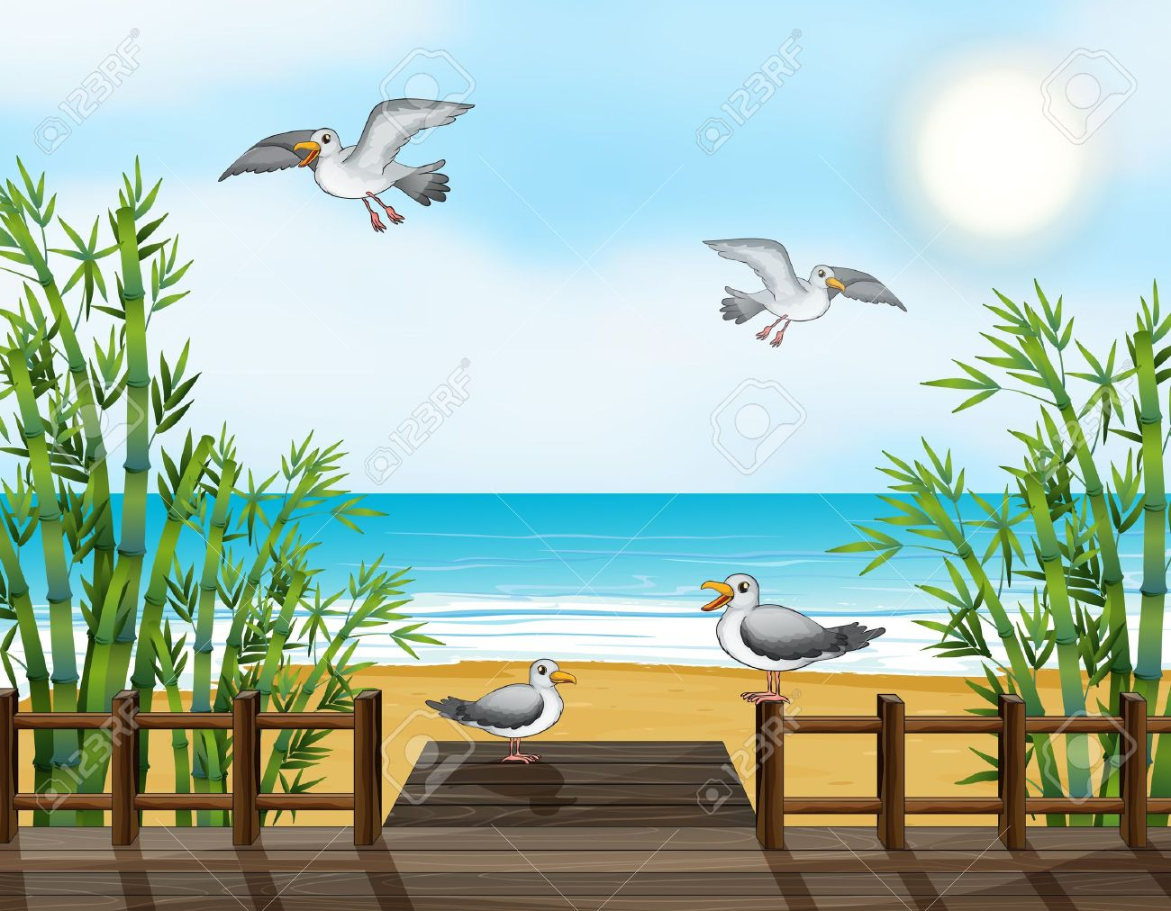 Flock Of Birds clipart #2, Download drawings