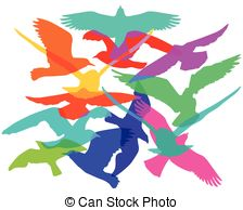 Flock Of Birds clipart #11, Download drawings