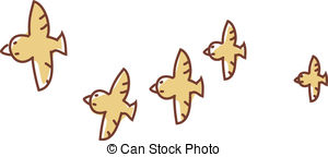 Flock Of Birds clipart #6, Download drawings