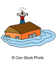 Flooding clipart #1, Download drawings