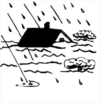 Flooding clipart #3, Download drawings