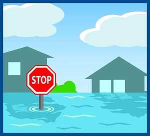 Flooding clipart #2, Download drawings