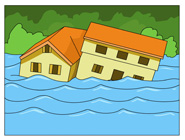 Flooding clipart #9, Download drawings