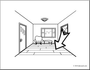 Floor coloring #1, Download drawings