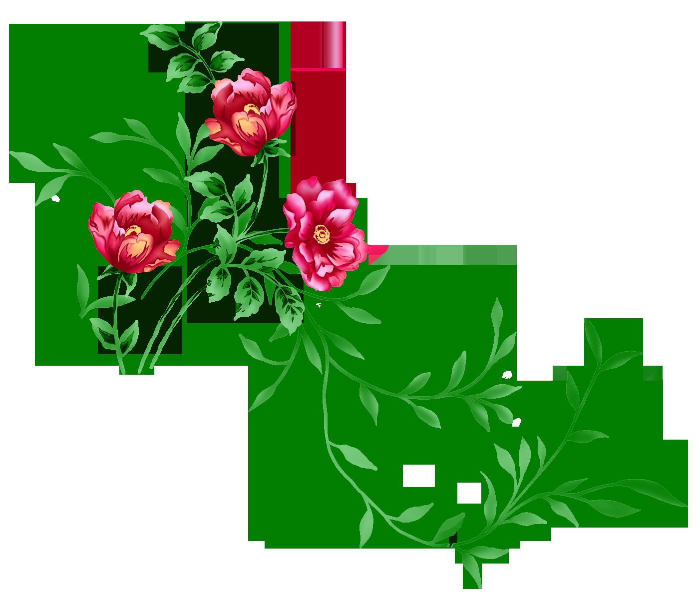 Florais clipart #1, Download drawings