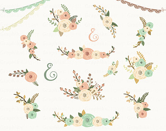 Floral clipart #19, Download drawings