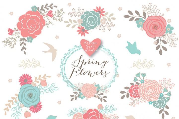 Florais clipart #9, Download drawings