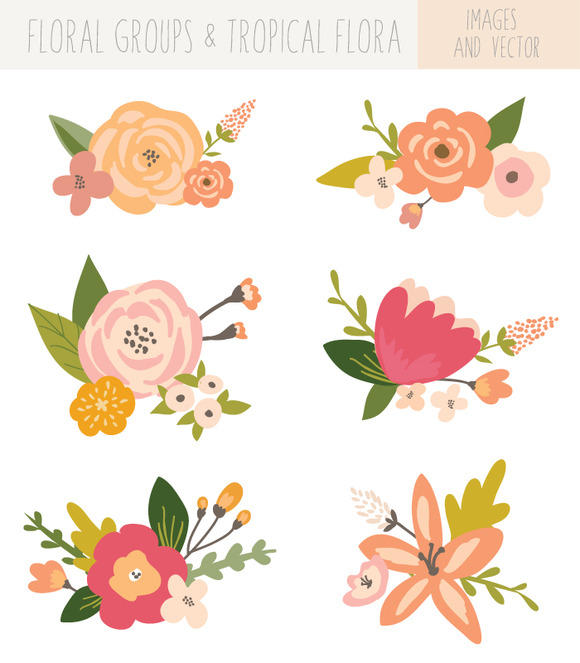 Florais clipart #19, Download drawings