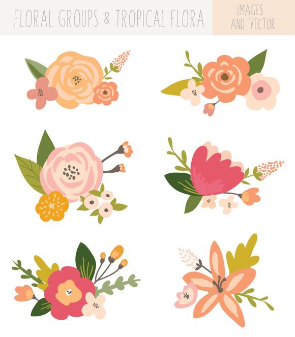 Florais clipart #19, Download drawings