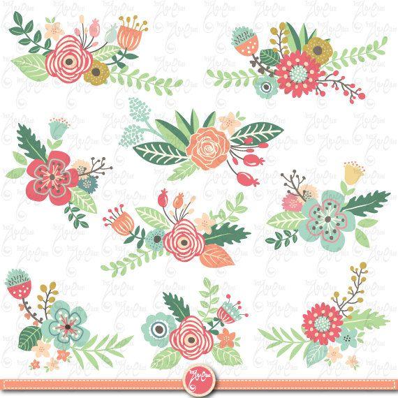 Florais clipart #7, Download drawings