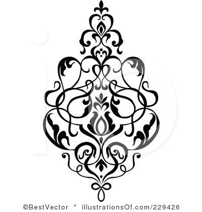 Floral clipart #10, Download drawings