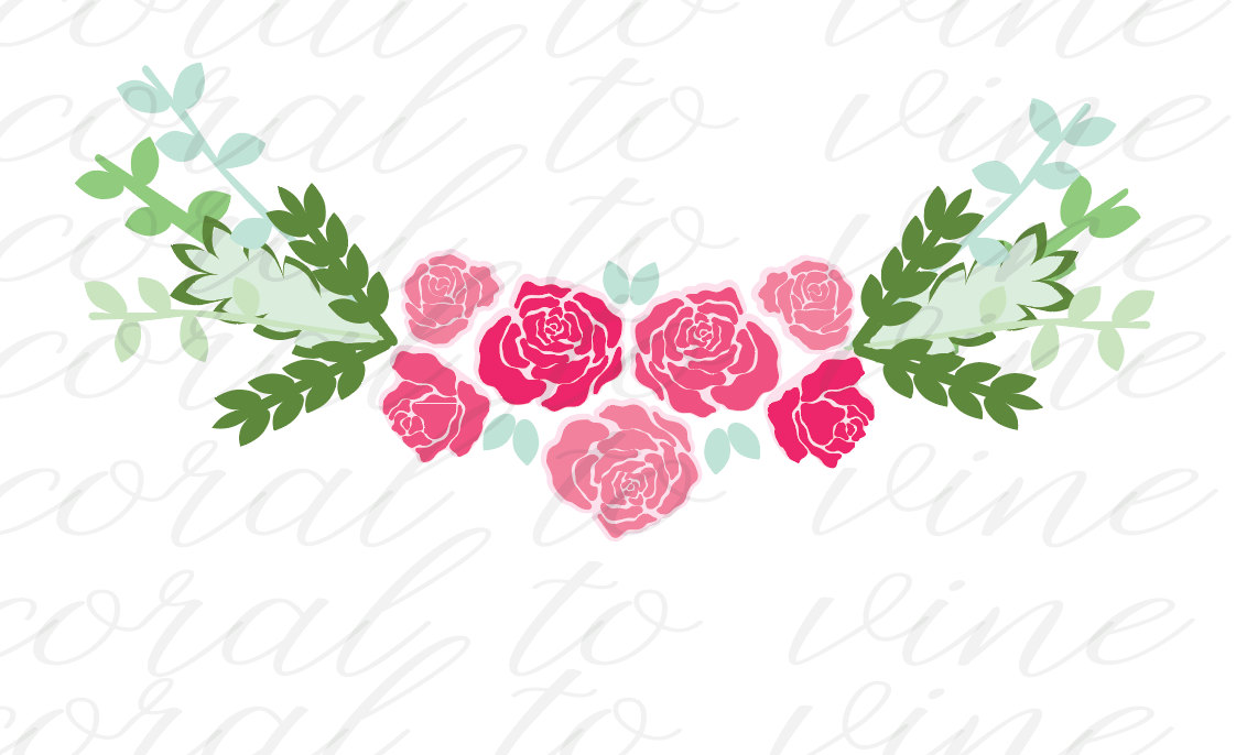 Floral svg #19, Download drawings