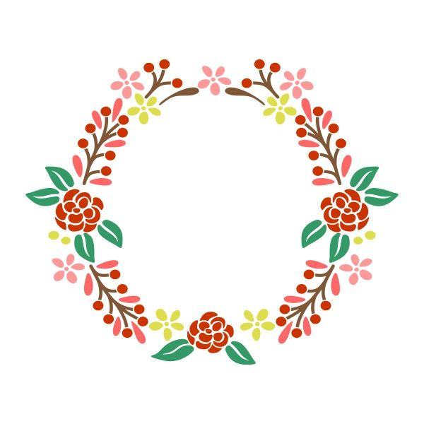 Floral svg #85, Download drawings