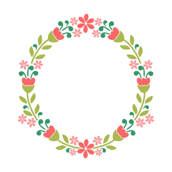 Floral svg #3, Download drawings