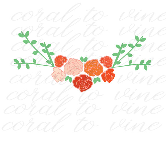 Floral svg #16, Download drawings