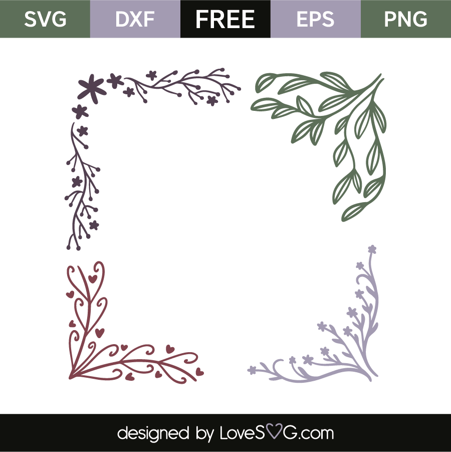 floral svg free #177, Download drawings