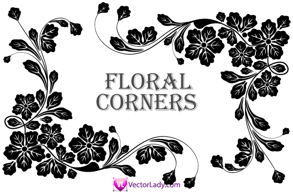 Floral Vector clipart #17, Download drawings