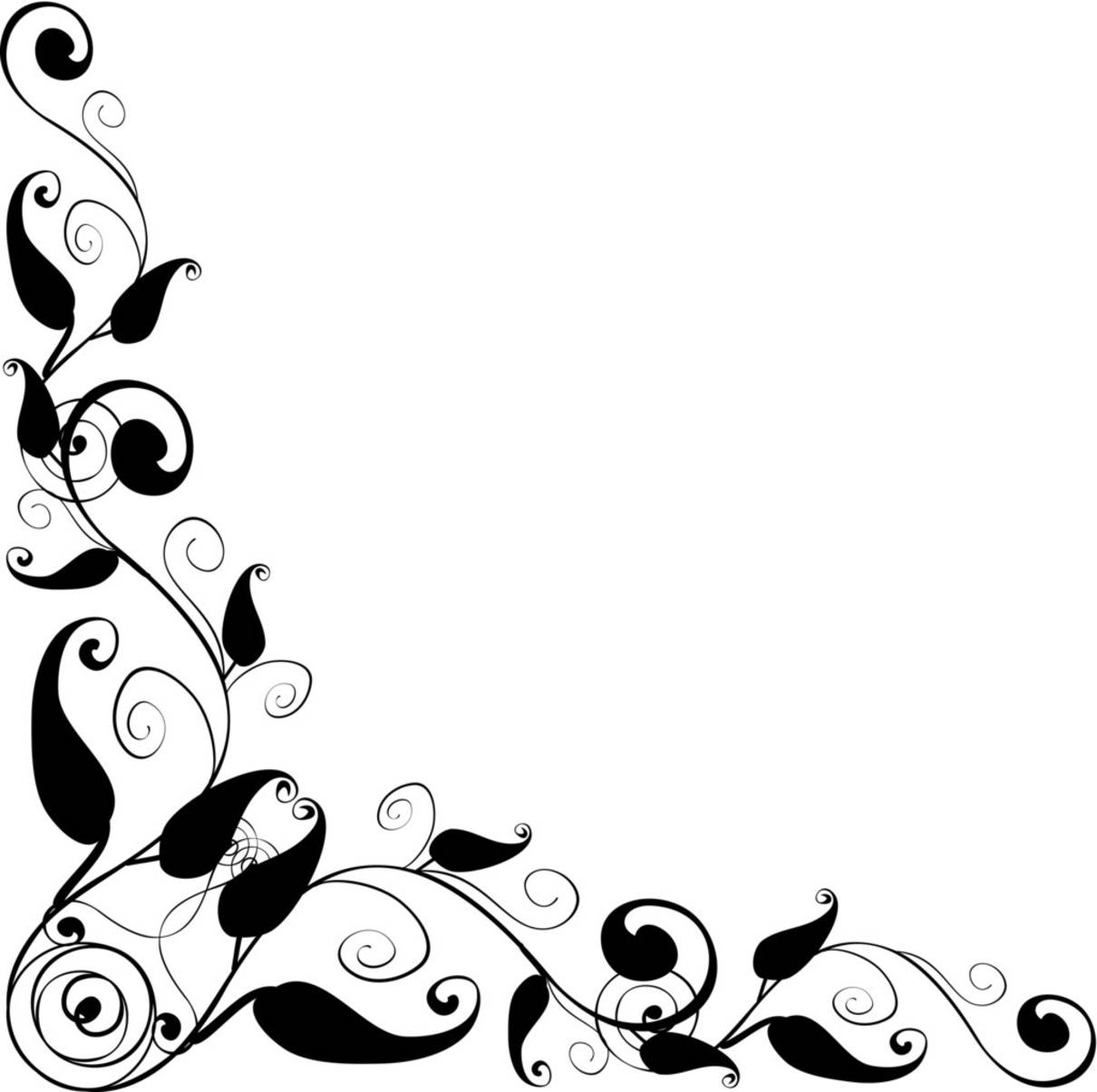 Floral Vector clipart #7, Download drawings