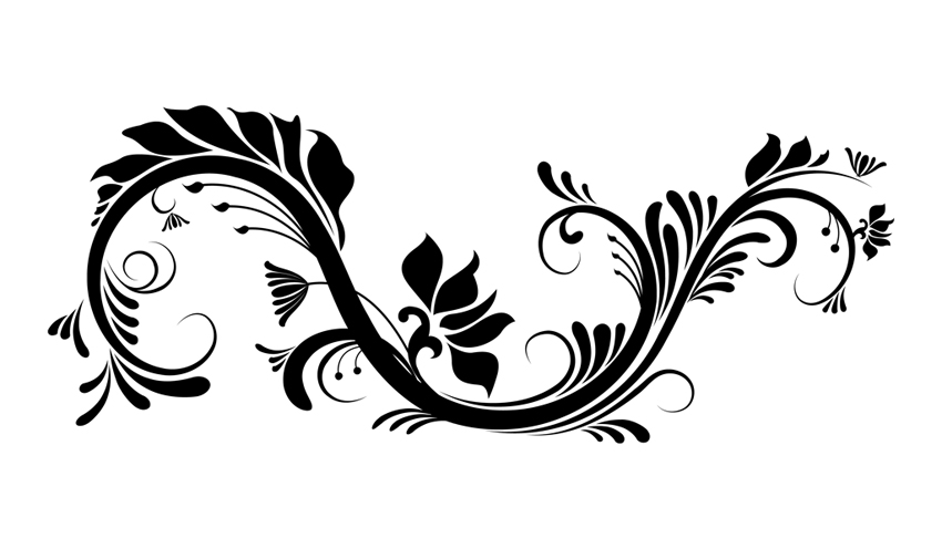 Floral Vector clipart #2, Download drawings