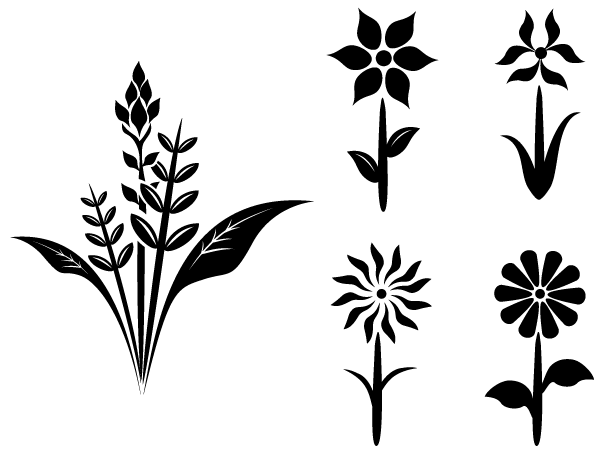 Floral Vector clipart #9, Download drawings