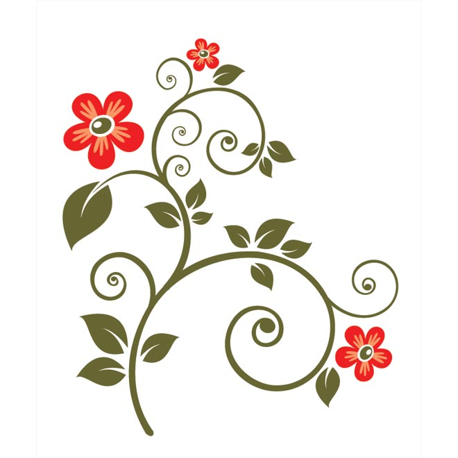 Floral Vector clipart #1, Download drawings
