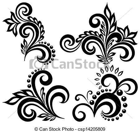 Floral Vector clipart #15, Download drawings