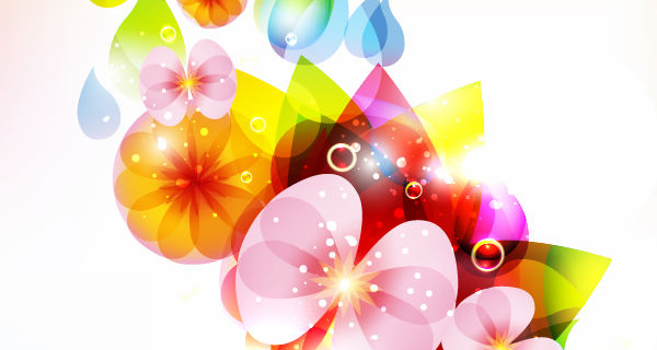 Floral Vector coloring #17, Download drawings