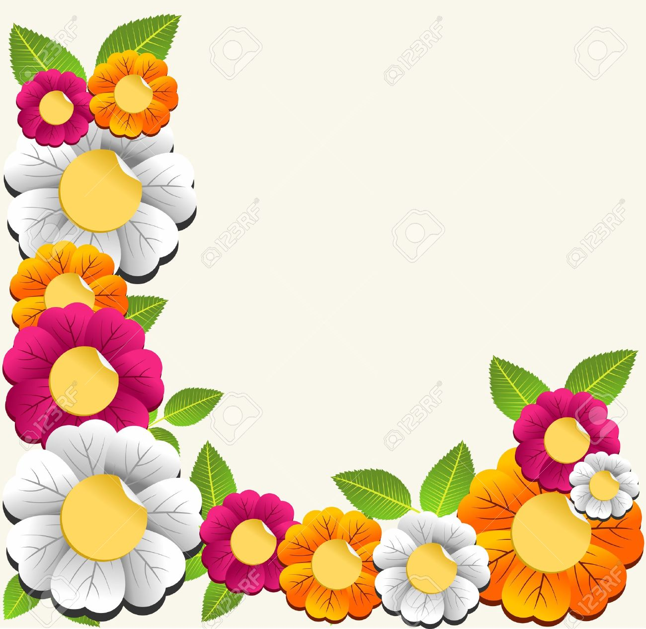 Floral Vector coloring #11, Download drawings