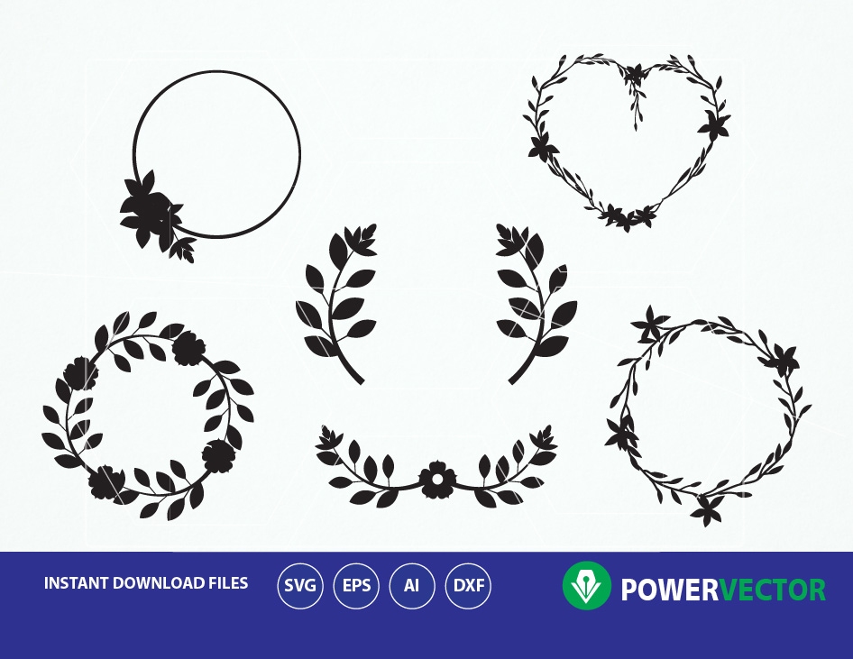 floral wreath svg #318, Download drawings