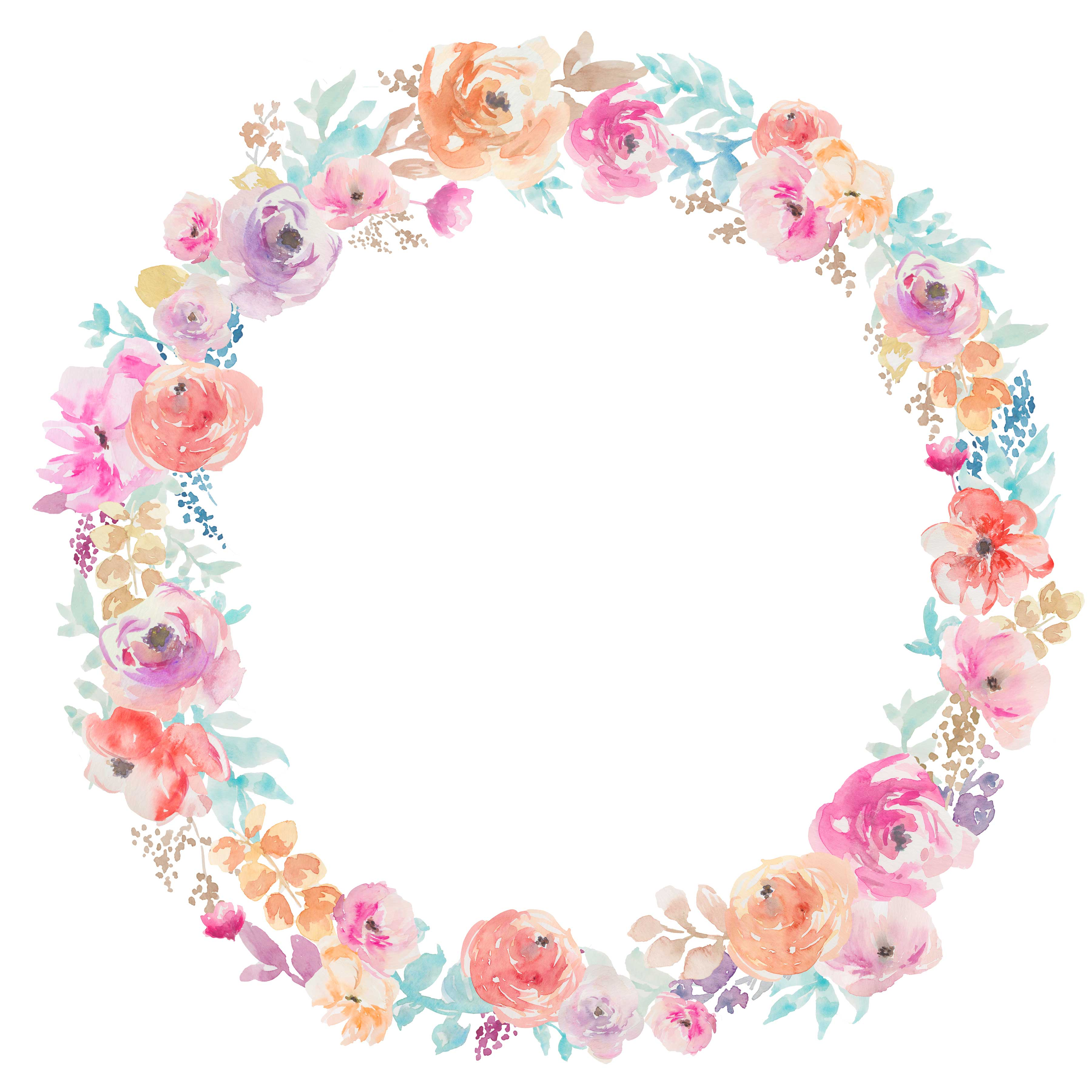 floral wreath svg #305, Download drawings
