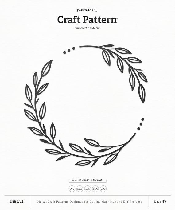 floral wreath svg #321, Download drawings
