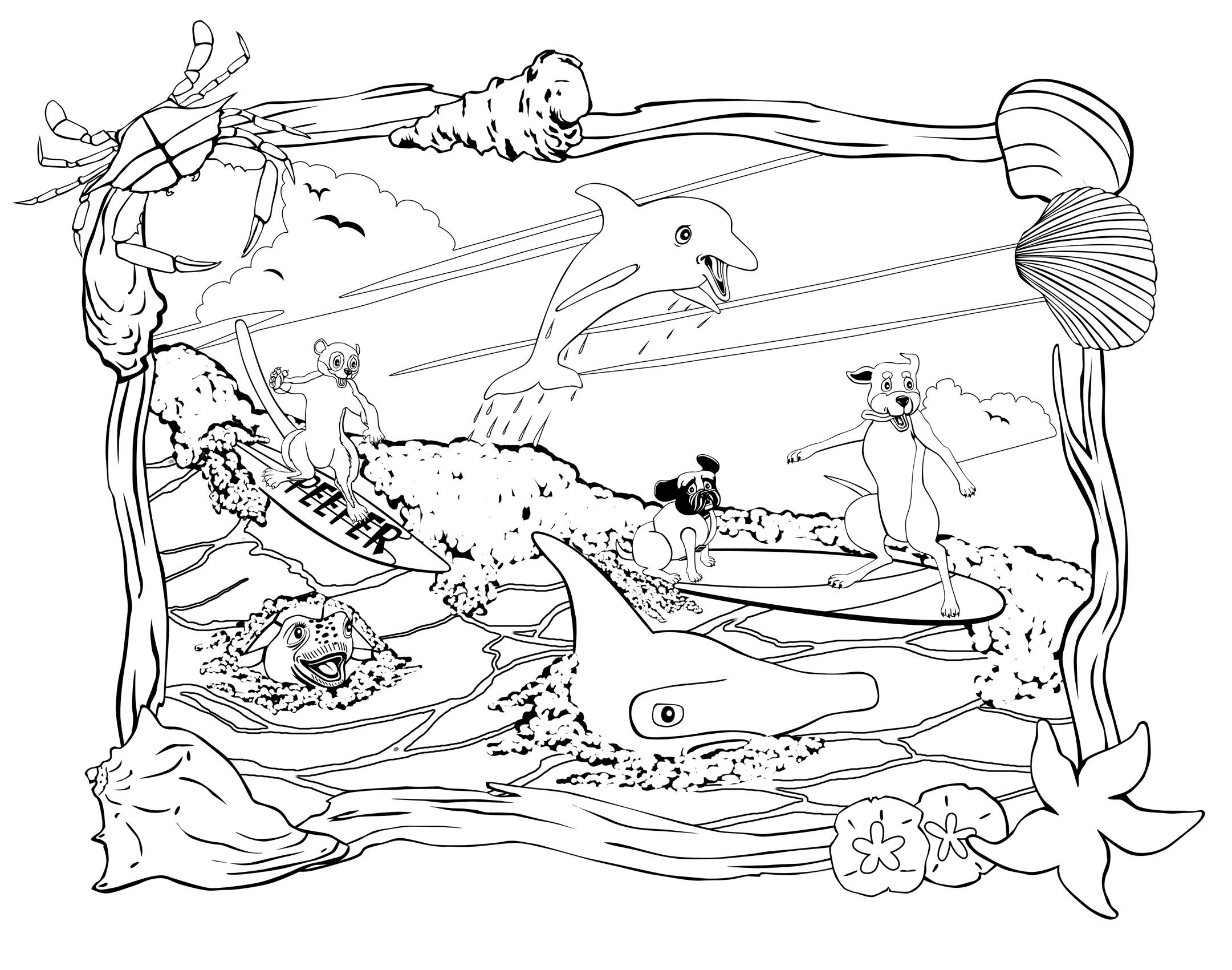 Florida coloring #18, Download drawings