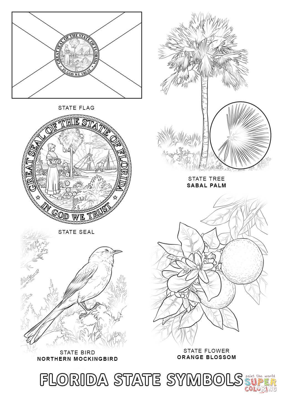 Florida coloring #19, Download drawings