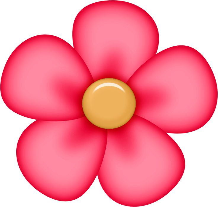 Red Flower clipart #6, Download drawings