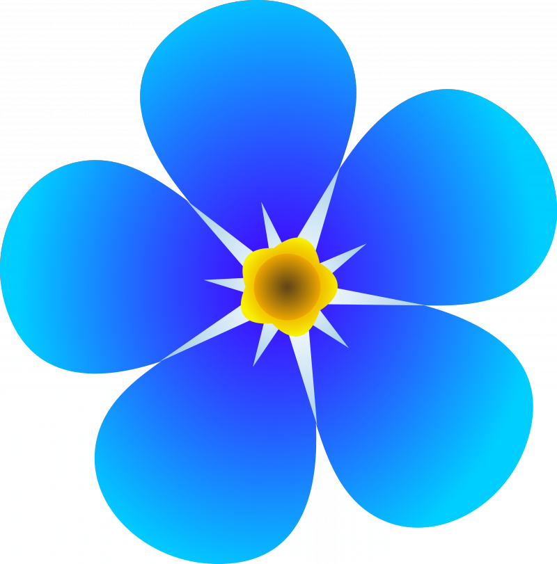 Flower clipart #3, Download drawings