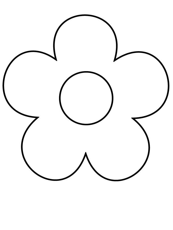 Flower coloring #6, Download drawings