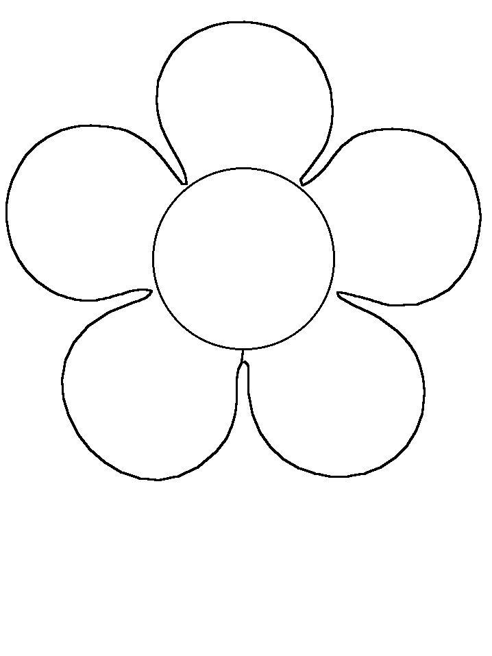 Flower coloring #14, Download drawings