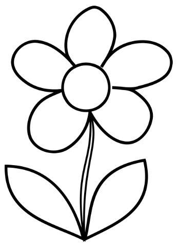 Flower coloring #15, Download drawings