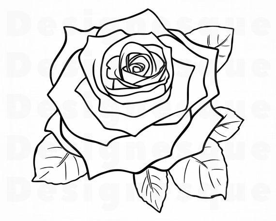 flower outline svg #672, Download drawings