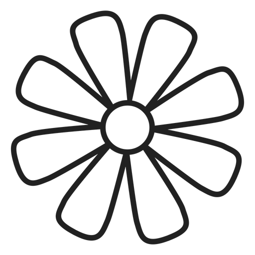 flower outline svg #668, Download drawings