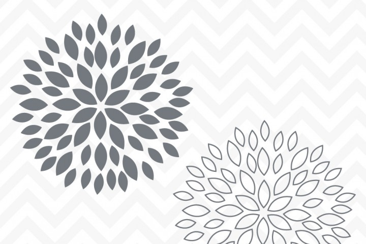Flower svg #1, Download drawings