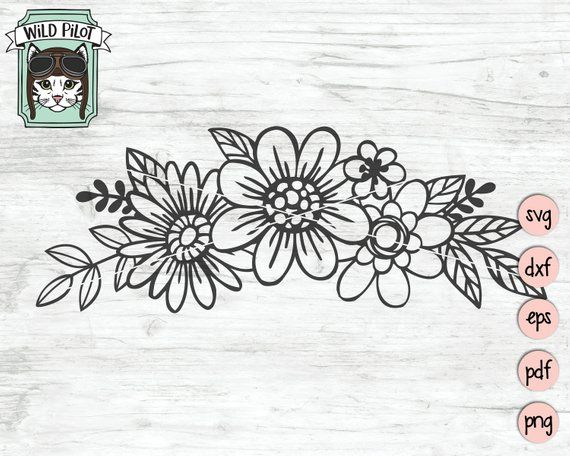 flowers svg #1082, Download drawings