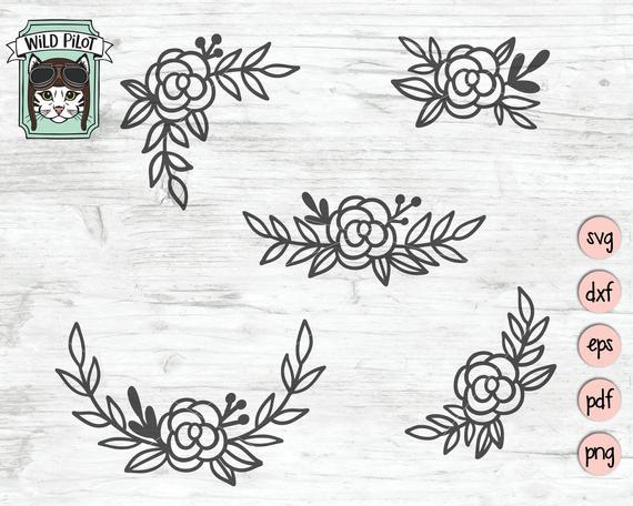 flowers svg #1081, Download drawings