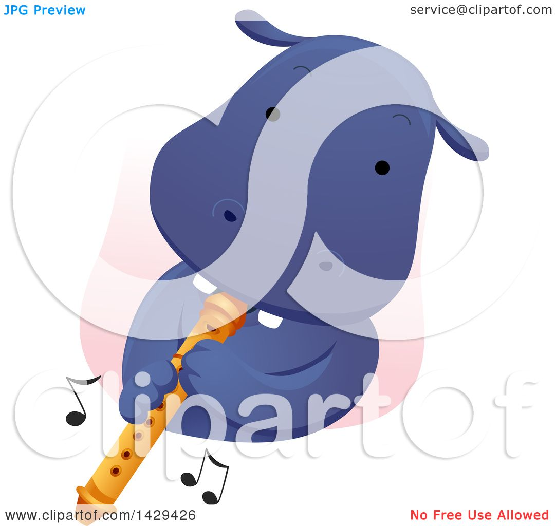 Flute Blue clipart #8, Download drawings