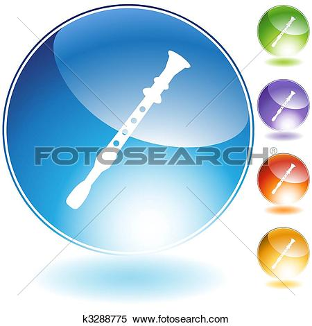 Flute Blue clipart #6, Download drawings