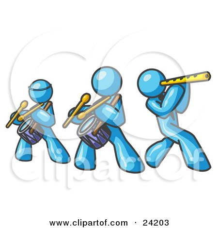 Flute Blue clipart #18, Download drawings