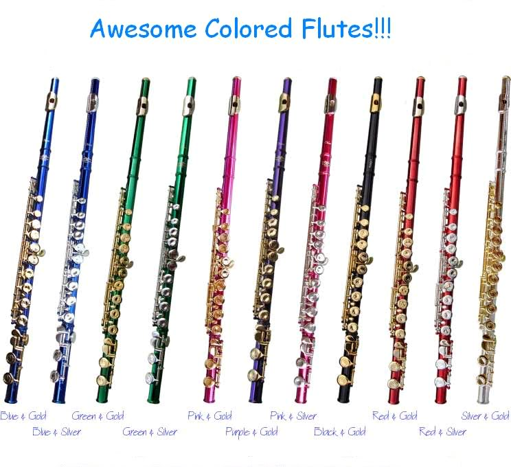 Flute Blue coloring #13, Download drawings