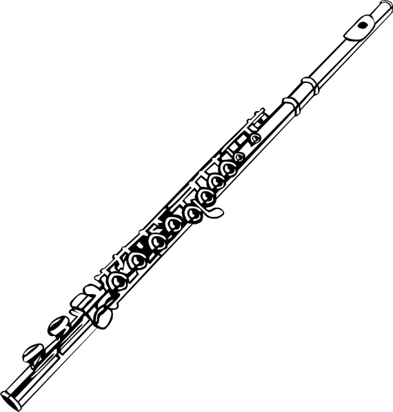 Flute clipart #17, Download drawings