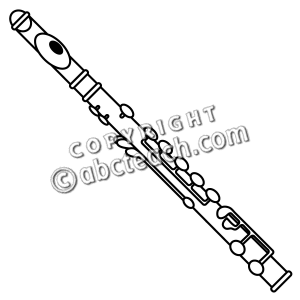 Flute clipart #13, Download drawings